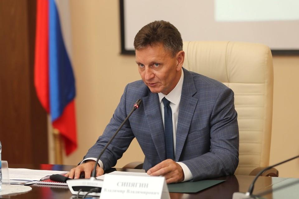 Губернатор Владимирской области Владимир Сипягин.