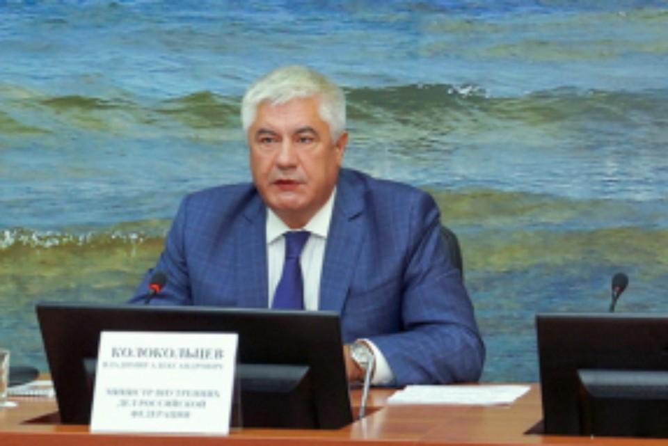 Министр МВД России Владимир Колокольцев приехал в Иркутск