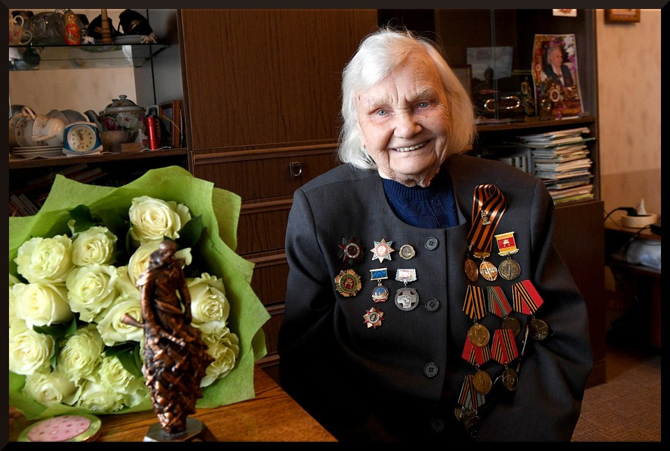 Антонина Гордеева прошла медсестрой почти всю войну. Фото: ПТО