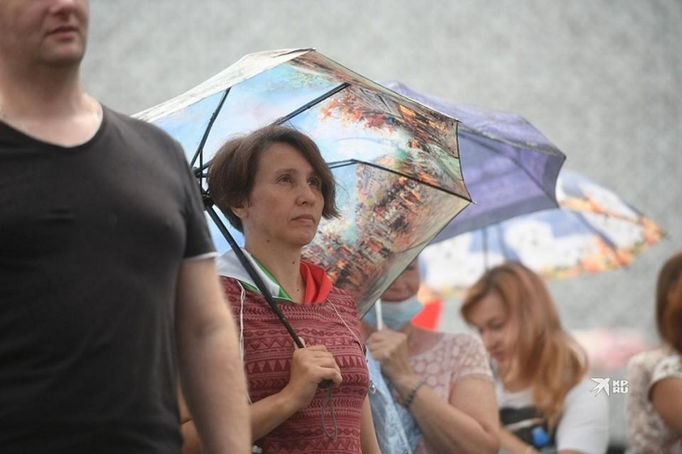 В Свердловскую область снова придет непогода