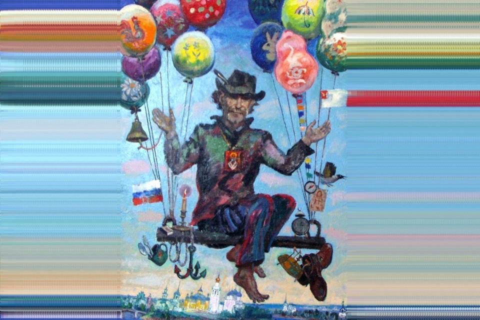 """""""Свободный полет над Вологдой"""", 1999г. cultinfo.ru"""