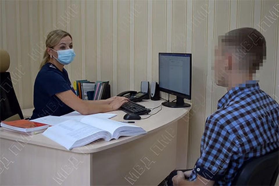 19-летнему оболтусу грозит до пяти лет лишения свободы (Фото: МВД Приднестровья).