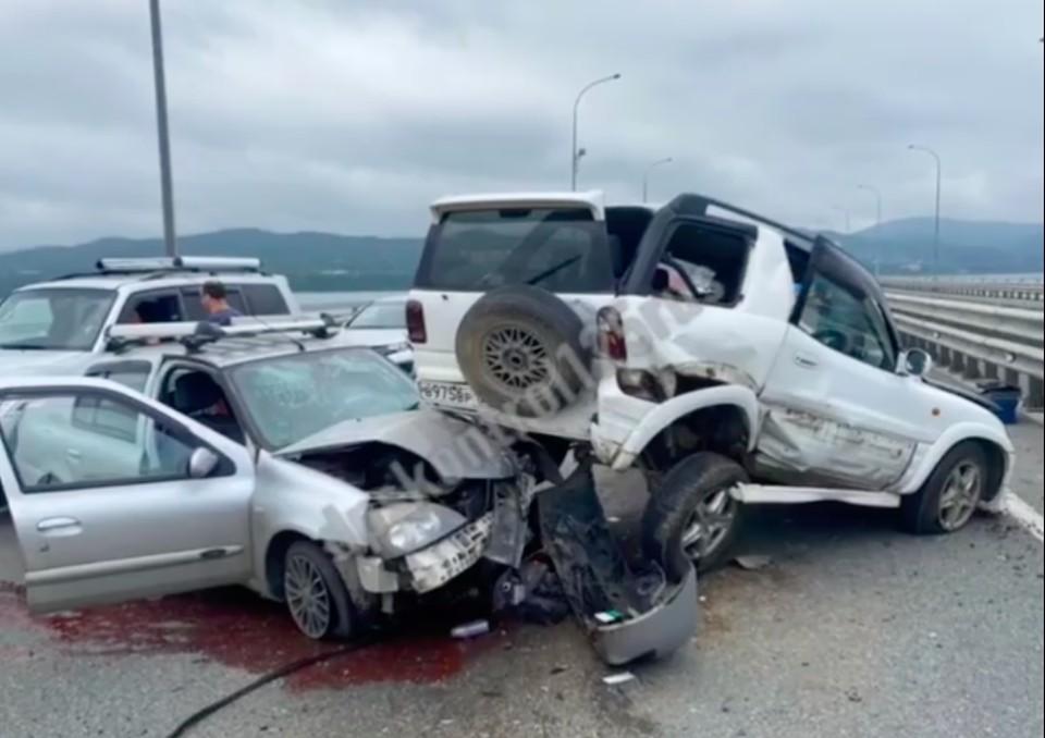 Очевидцы сообщают о двух пострадавших в результате аварии. Фото: dpskontrol125rus