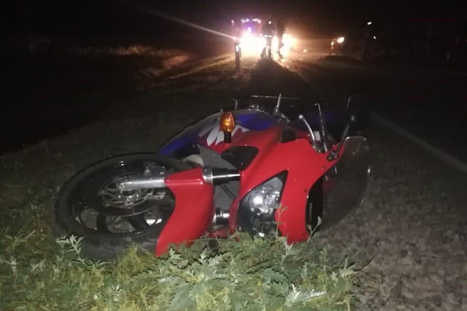 В Ростовской области мотоциклист с ребенок погибли в ДТП. Фото: ГИБДД по РО