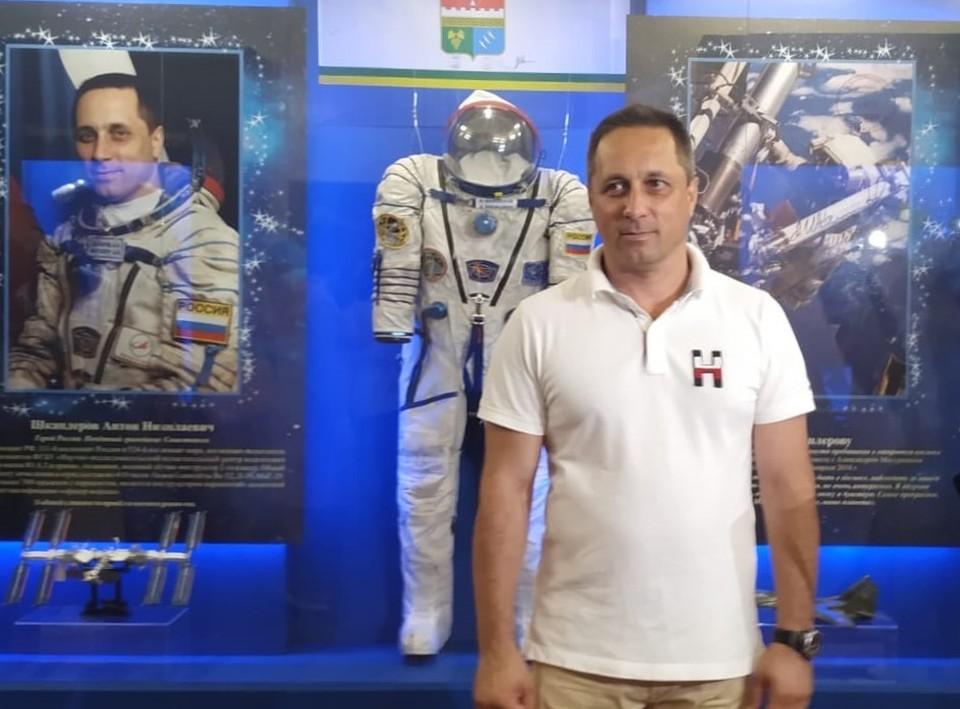 Антон Шкаплеров присутствовал на открытии выставки
