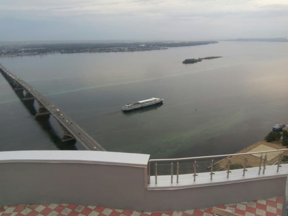 В Саратове зацвела Волга