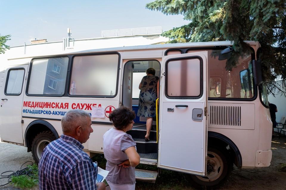 Вакцинация от коронавируса в Орле