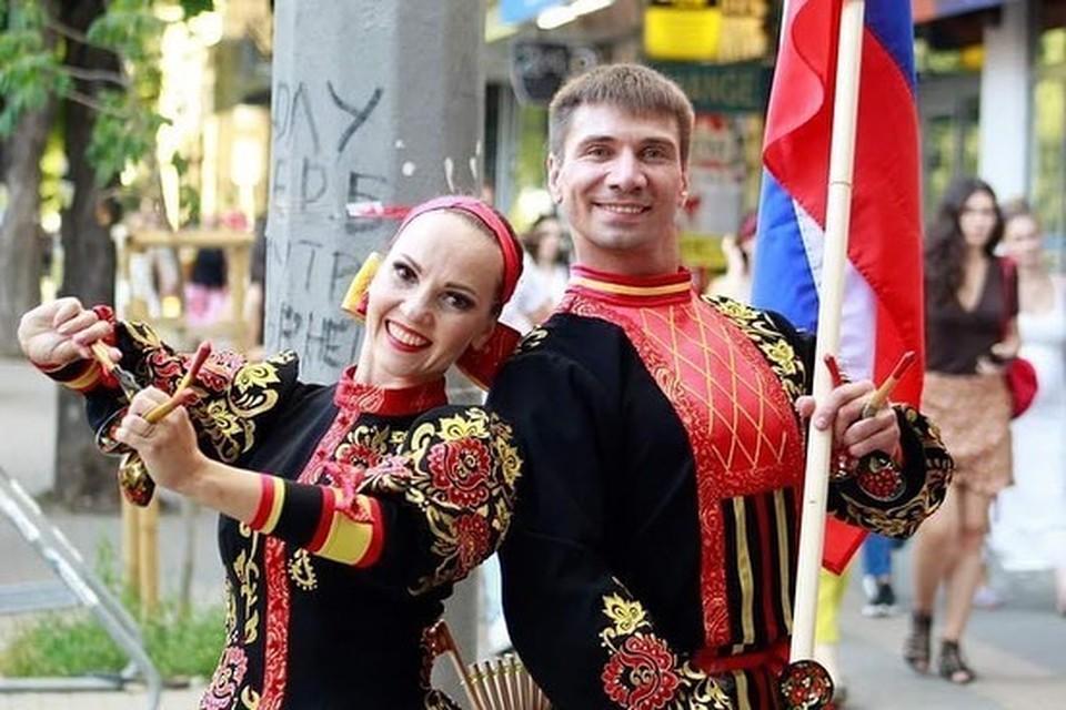 Челябинские артисты выступили в столице Болгарии. Фото: Государственный ансамбль танца «Урал»