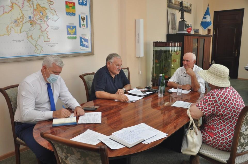 Константин Затулин на встрече с жителями