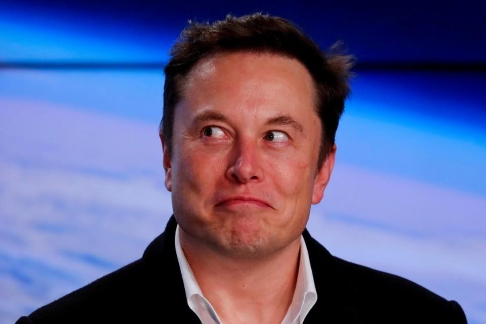 Основатель компаний SpaceX и Tesla Илон Маск