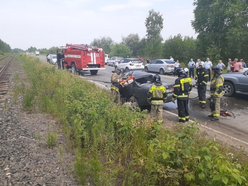 Четыре человека погибли в ДТП на трассе под Хабаровском