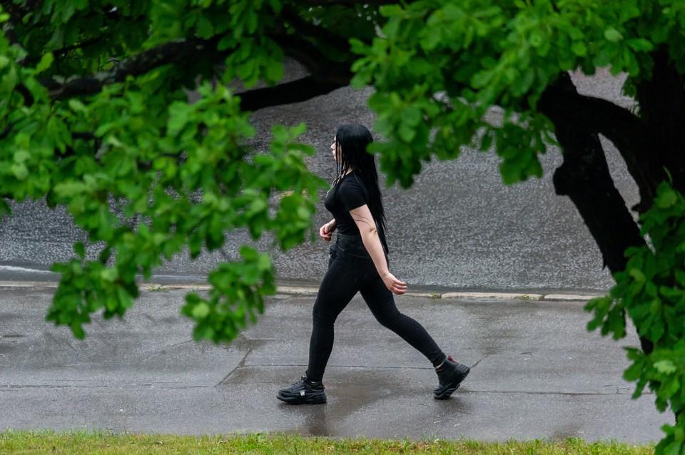 20 июля стало самым холодным днем в Петербурге за лето 2021 года