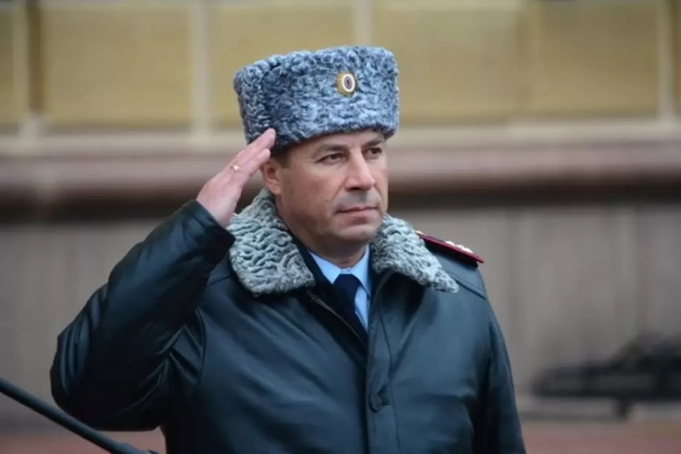 Сергей Щеткин - бывший глава ГУ МВД по Ставропольскому краю. Фото: МВД РФ