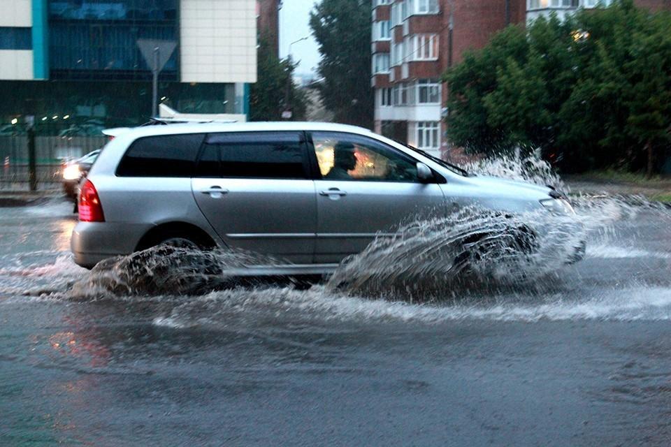 МЧС предупредило, что Иркутскую область зальют сильные ливни с грозами