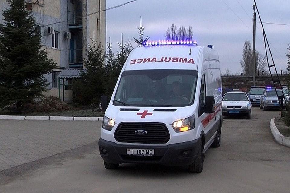 Скорая доставила пострадавшую в реанимацию (Фото: МВД Приднестровья).