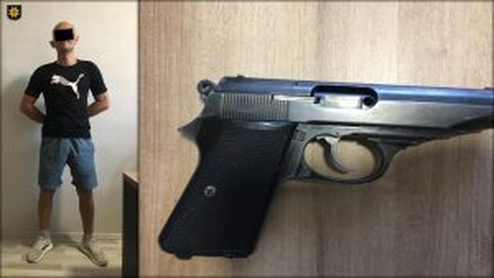 Задержанные устроили стрельбу в Кишиневе (Фото: столичная полиция).