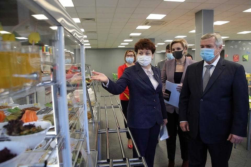 В этом году должны провести исследование качества питания в школах. Фото: сайт правительства РО