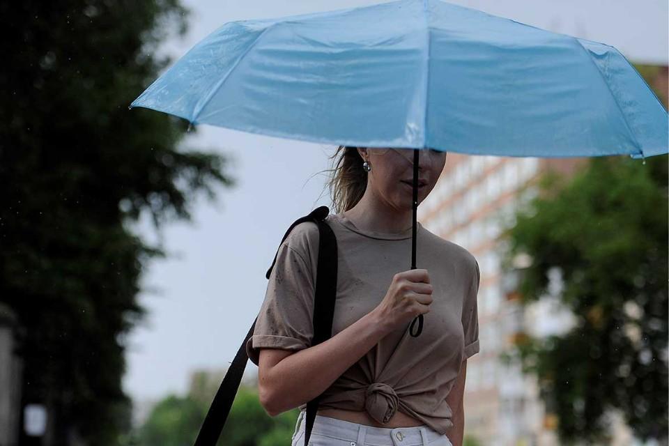 Выходя из дома, берите зонтик.