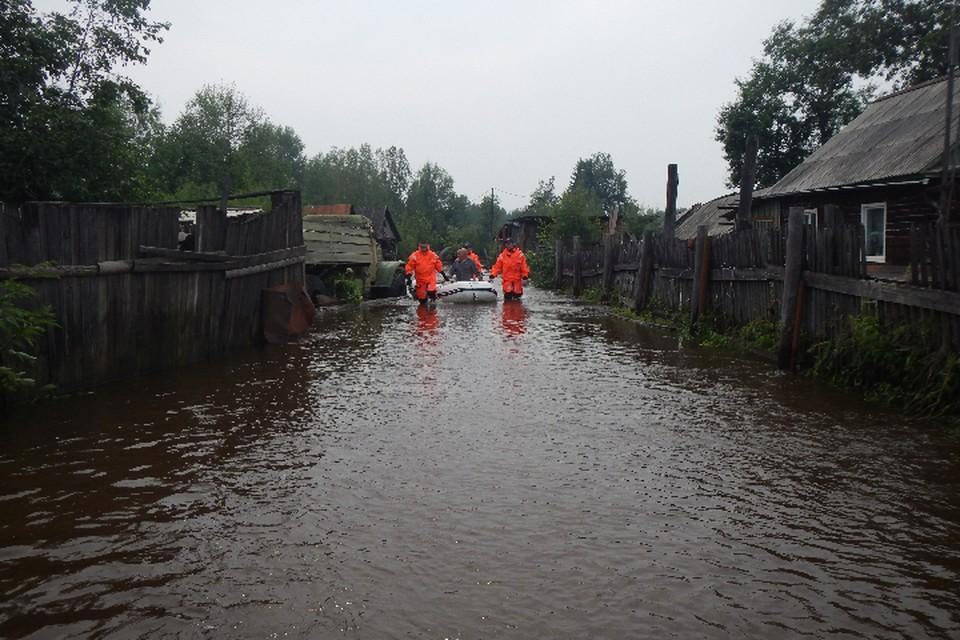 В верховьях Амура вновь зарождается паводок, который стремительно идет в Хабаровский край