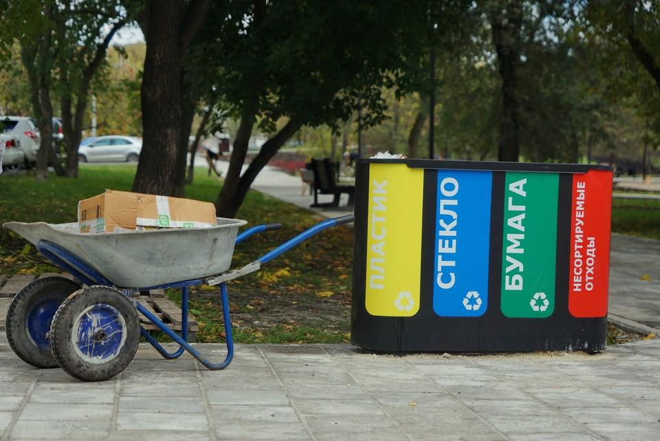 В Приморье активно ликвидируют несанкционированные свалки и переходят на раздельный сбор мусора.