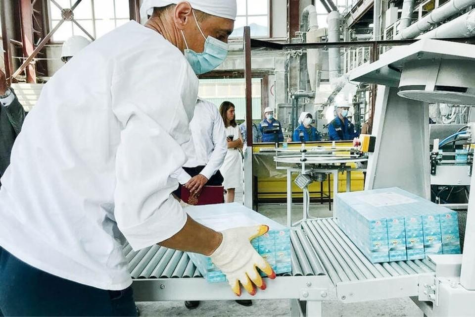 Пищевую соду Крымский содовый завод начал производить еще в 2013 году. Фото: Крымская газета