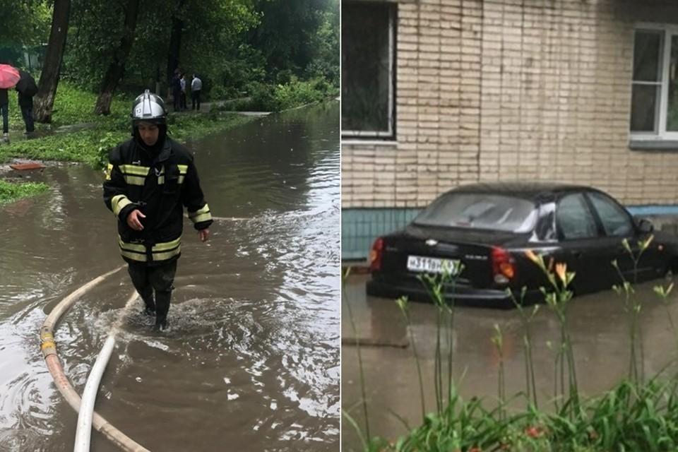 В последний страшный ливень 17 июня в Ростове затопило более сорока территорий. Фото: ГУ МЧС по Ростовской области, vk.com/rostovnadonu
