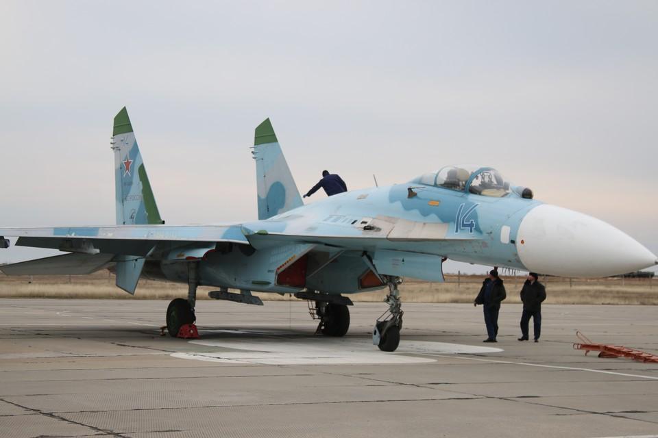 Российский Су-27 сопроводил истребитель ВВС Германии над Балтийским морем