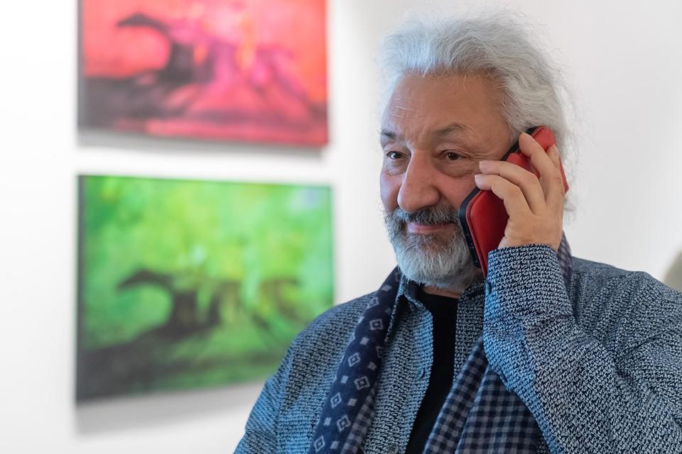 В здании Московского музея современного искусства на Гоголевском бульваре открылась персональная выставка Стаса Намина «Противостояние».