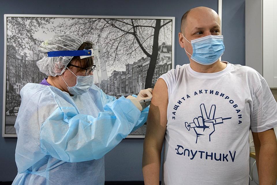 """Вакцина """"Спутника V"""" признаны одной из успешных научных разработок на мировом уровне."""