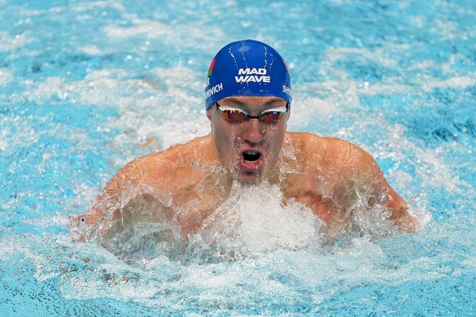 Илья Шиманович занял восьмое место в финальном заплыве на 100 метров брассом. Фото: НОК Беларуси