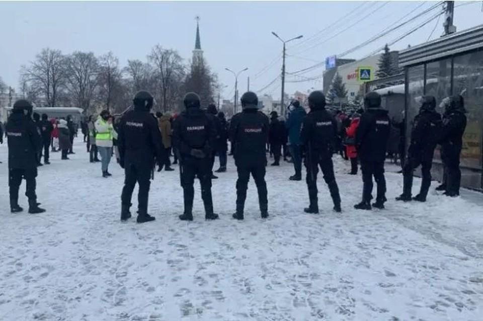 В Ярославле с организатора несанкционированного митинга взыскали деньги за работу полицейских в выходной день