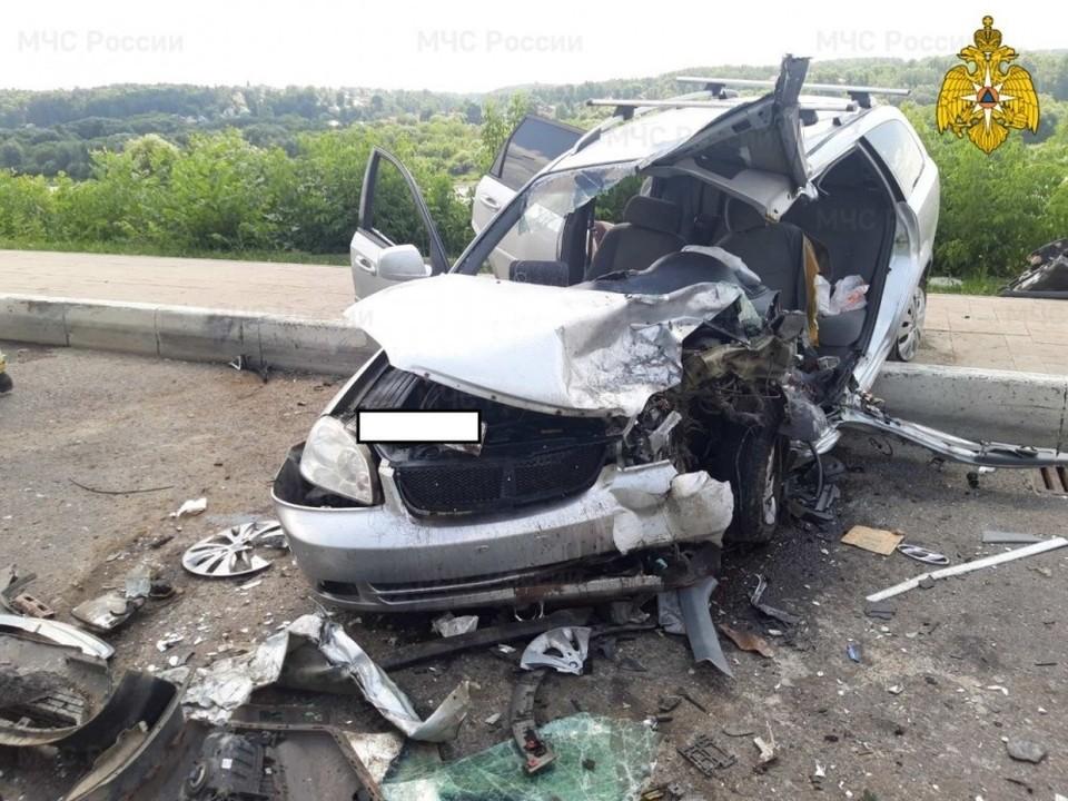 Пострадавший мужчина умер в больнице через 7 дней после аварии.