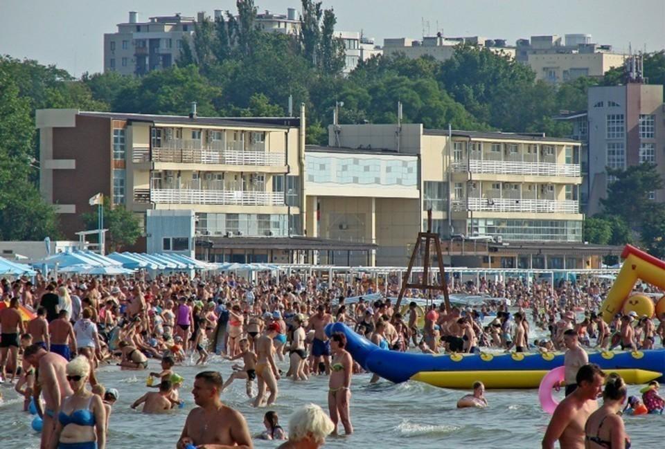 Погода на 30 июля 2021 года в Анапе: даже в море теплее, чем на суше