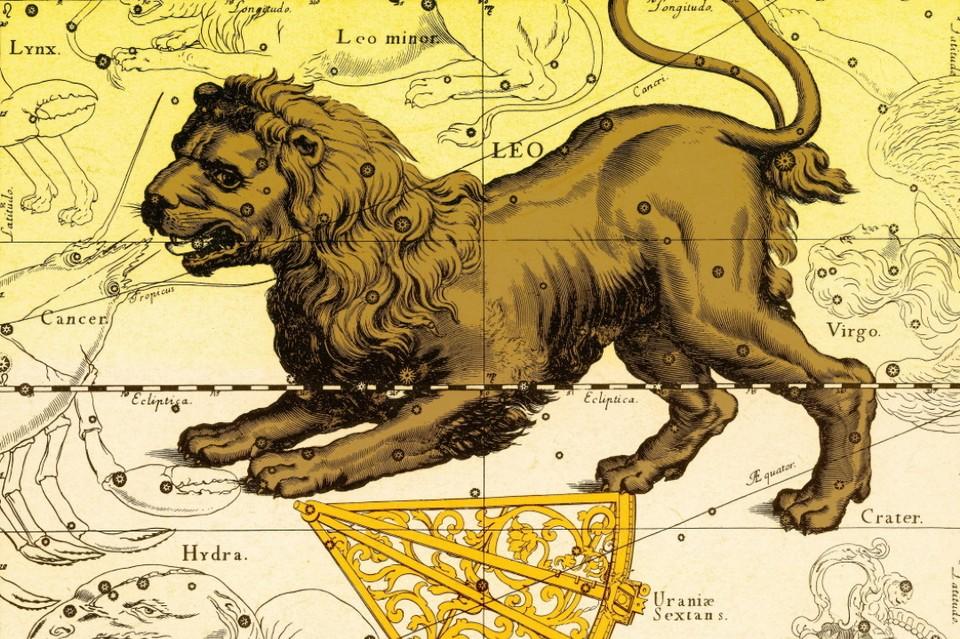 В августе Солнце идет по знаку Льва