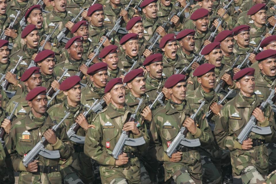 """Фото: архив """"КП"""". Военные из Индии вместе с российской армией будут учиться противостоять терроризму."""