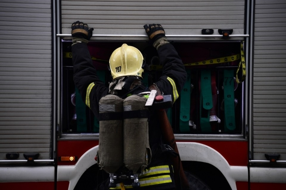 Пожар случился на улице 25 Октября.