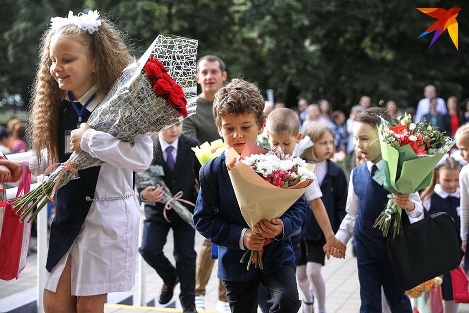 Лукашенко поздравил учащихся, педагогов и родителей с началом учебного года