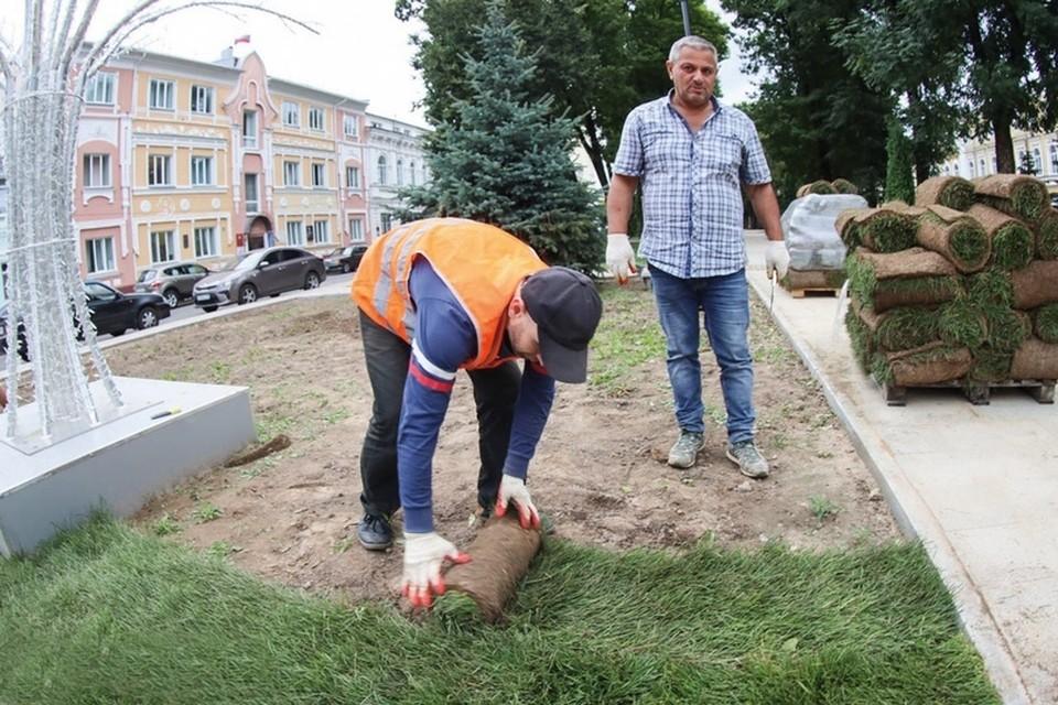 Как на Смоленщине меняются дворы и общественные пространства. Фото: администрация Смоленской области.