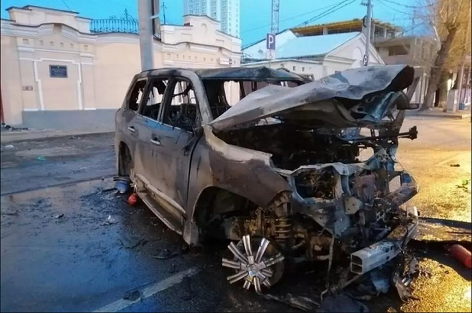 Бачурин управлял своим Lexus LX570 в состоянии алкогольного опьянения. Фото: отделение пропаганды ГИБДД по Екатеринбургу