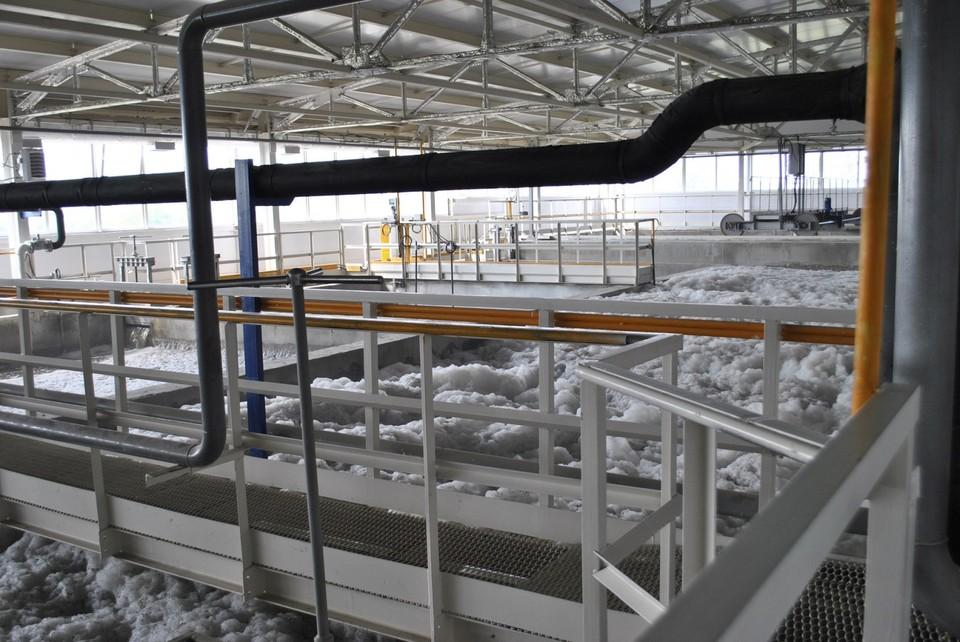 В Аксае очистные сооружения стали работать в режиме пуско-наладки