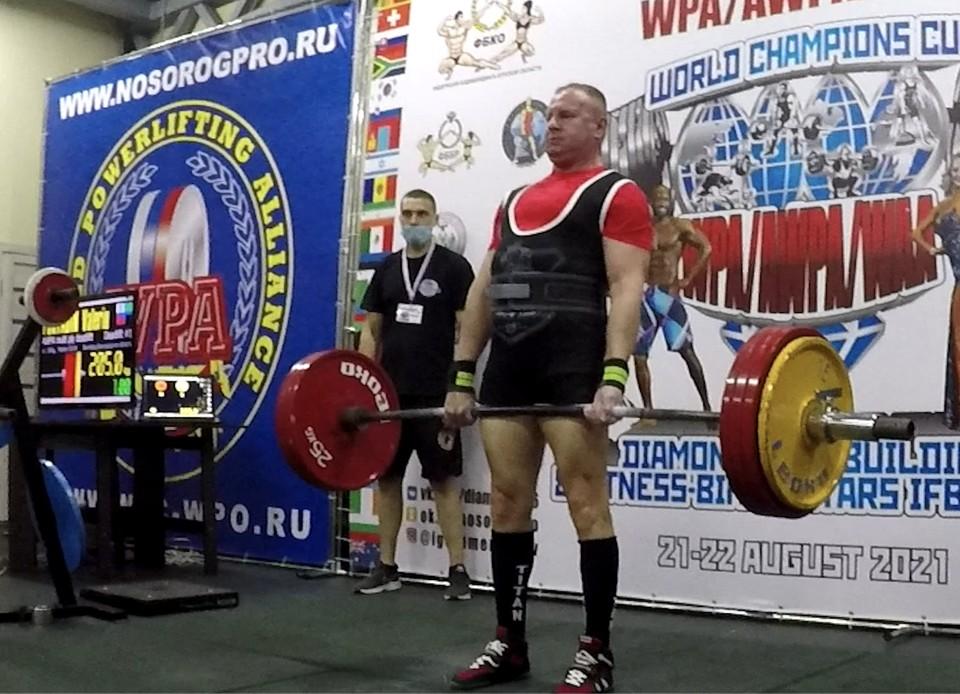Белгородец Валерий Порядин выступил сразу в нескольких дивизионах