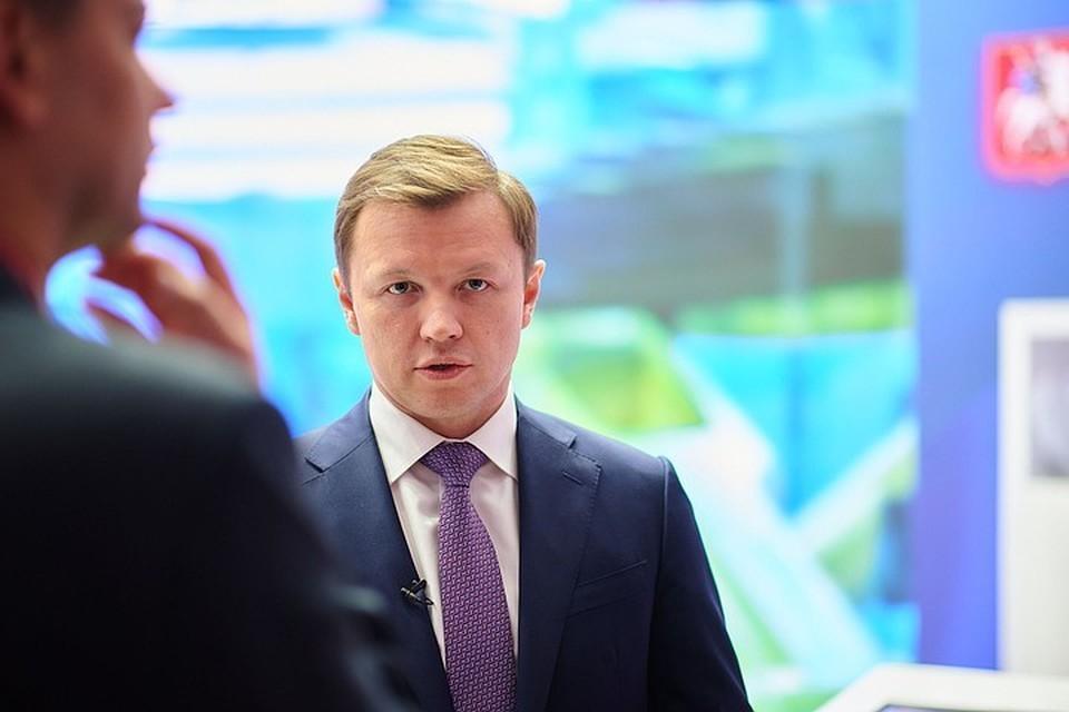 Владимир Ефимов, заместитель мэра Москвы по вопросам экономической политики и имущественно-земельных отношений.