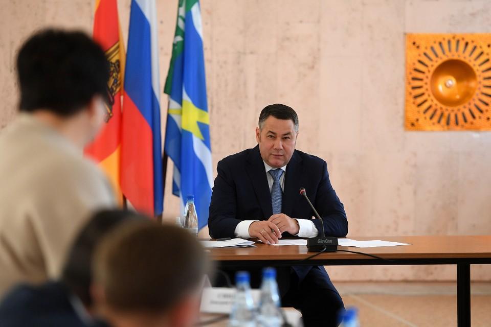 Игорь Руденя встретился с главами сельских и городских поселений Конаковского района и местными жителями.