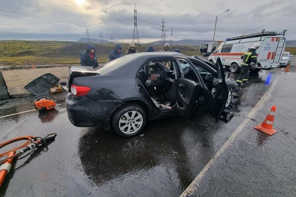 Один погиб и четверо в больнице: на дороге Норильск-Алыкель произошло смертельное ДТП