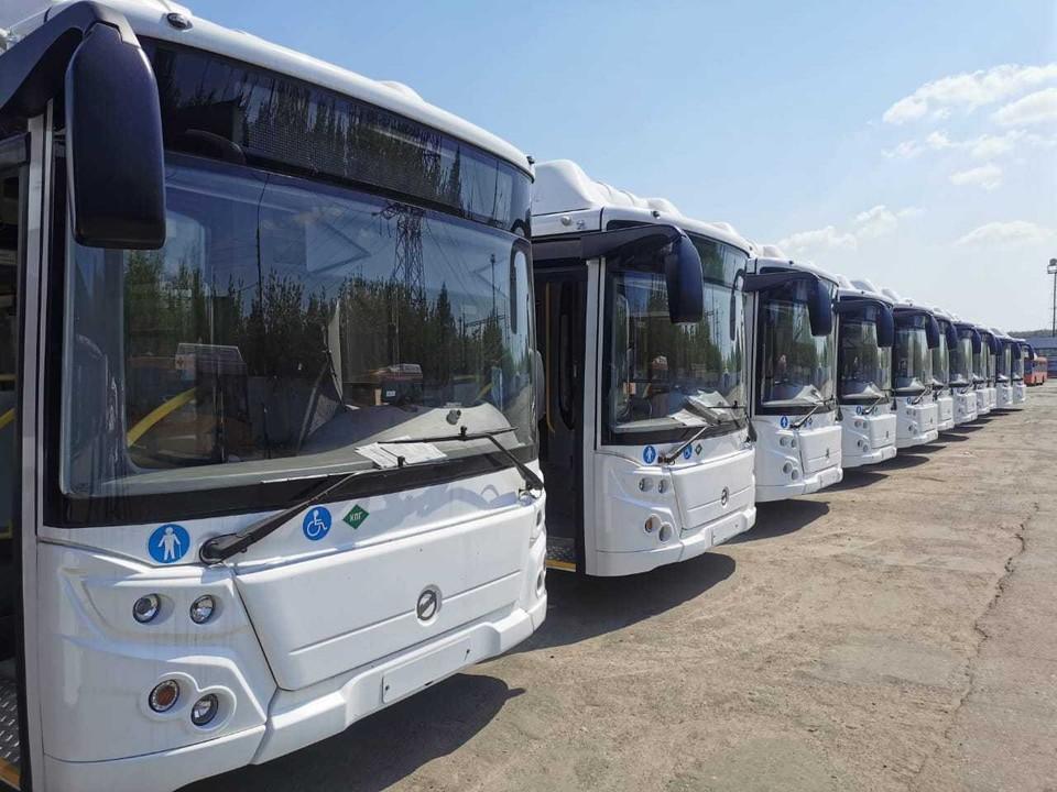 Нижний Новгород получил 20 новых ЛиАЗов.