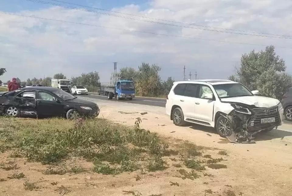 ДТП произошло днем 31 июля. Фото: Плохие новости Крым/Вконтакте