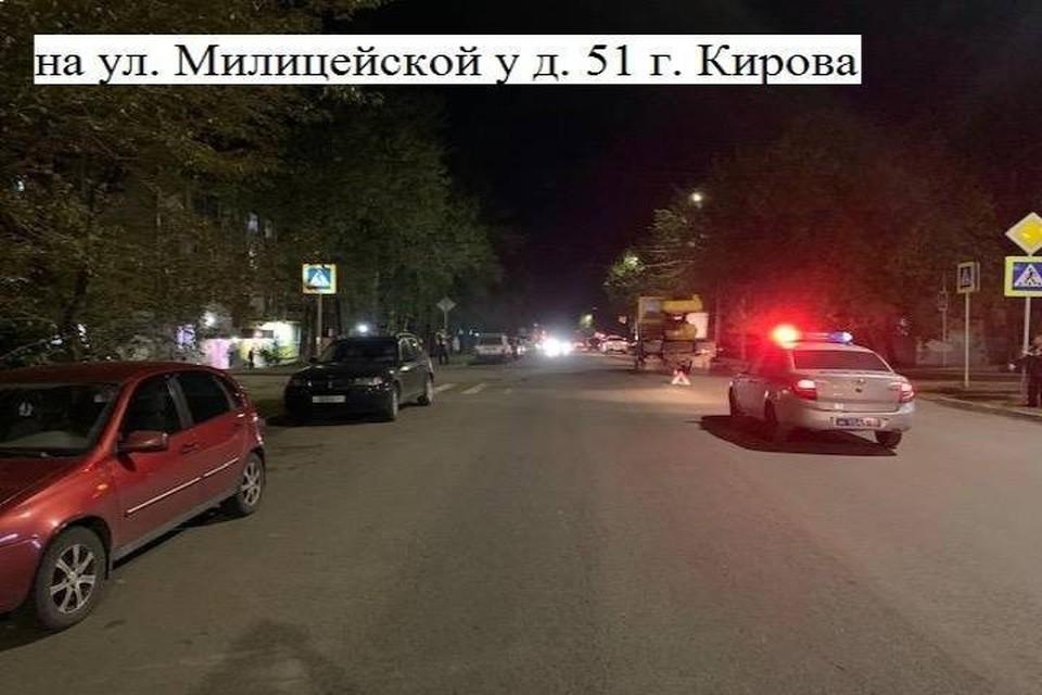 Одной из причин аварии могло стать темное время суток. Фото: vk.com/gibdd43