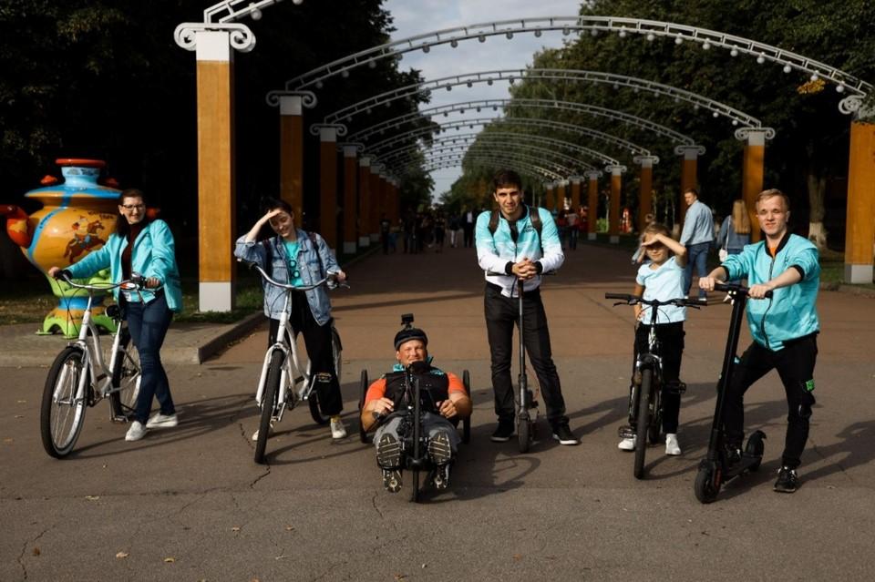 """Прямо из зала съезда """"Новых людей"""" он отправился на велопробег Москва-Крым протяженностью более двух тысяч километров"""