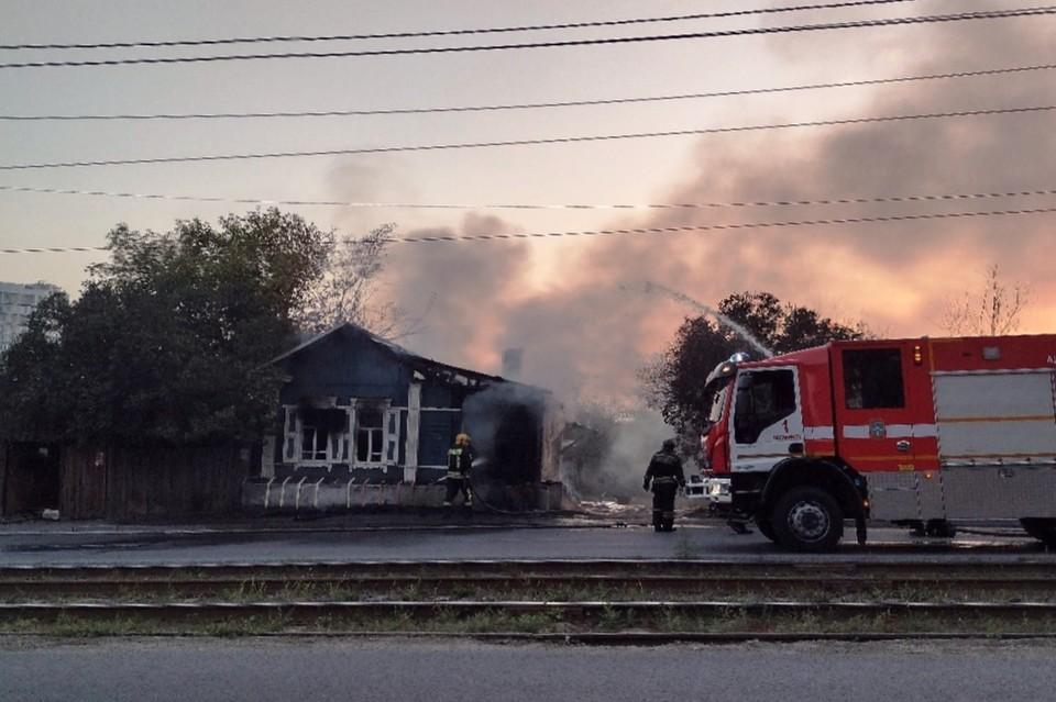 Сгорел и дом, который реставрировали на «Том Сойер Фесте»