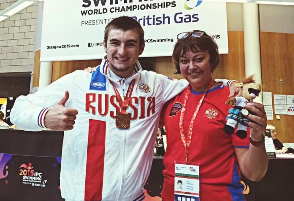 Подопечный Ирины Ахмеровой впервые в карьере выиграл золото Паралимпиады. Фото из архива Комитета физической культуры и спорта Волгоградской области.